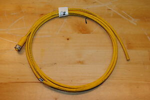 Lumberg-RKT-4U-602-Cordset-Single-Ended-Female-4-Pole-Yellow-7FT