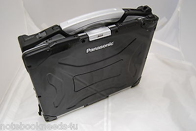 Panasonic Toughbook BLACK Rugged Backlit Emmissive Keyboard Touch Screen  Xp DVD