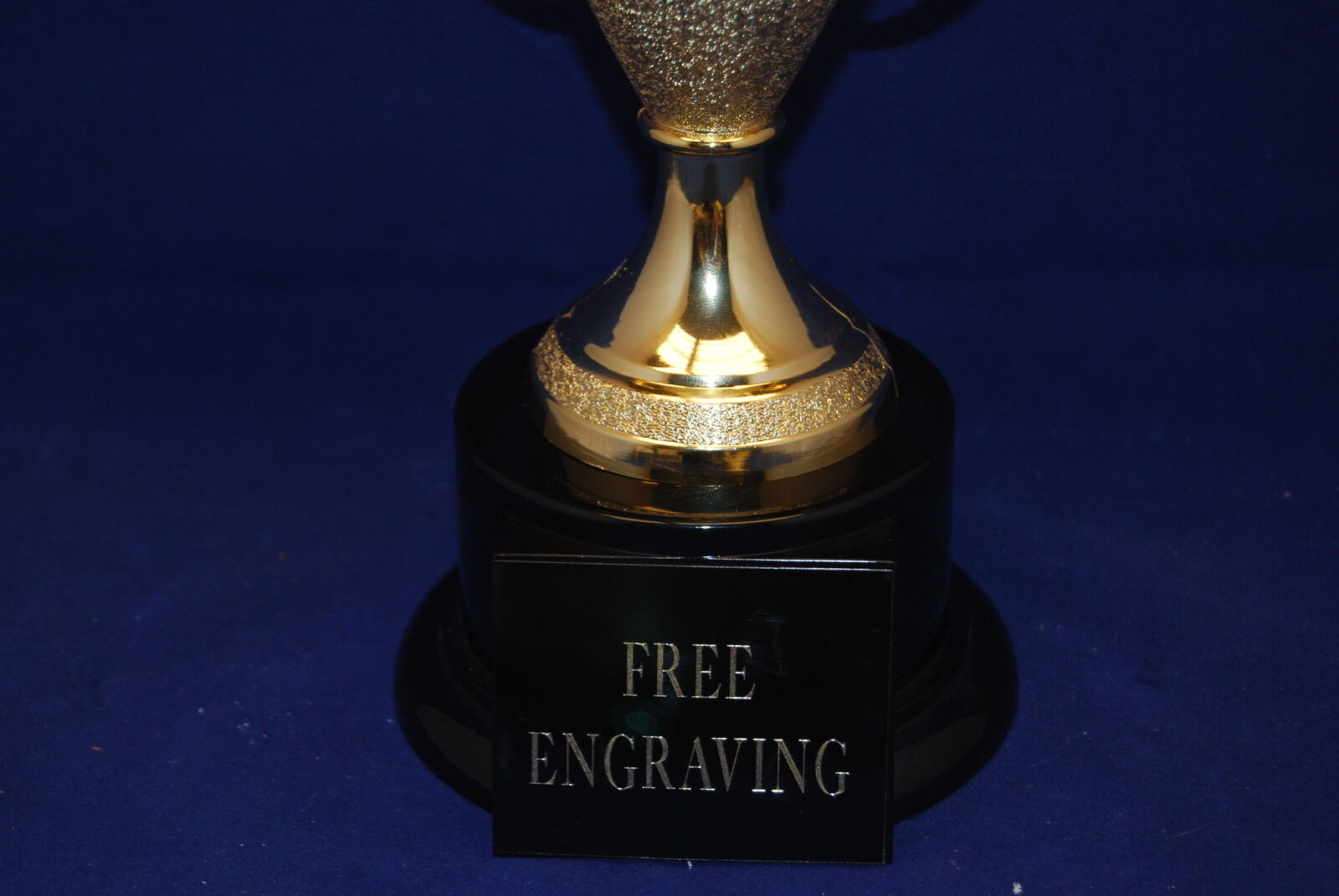 "CUSTOM 15"" HAND BALL TROPHY!  FREE ENGRAVING!!  SHIPS IN 1 BUSINESS DAY!!!"