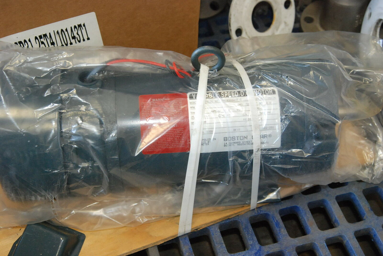 Boston Gear A2900501x056 2hp Dc Motor 1750rpm 180v