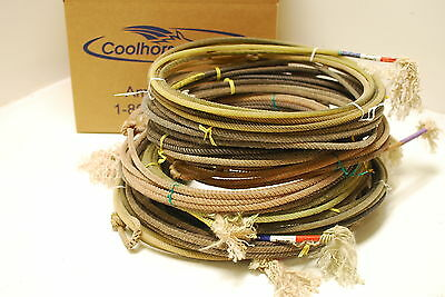 TEN (10) Used Lariat Team Ropes Good For Décor or Roping Practice 30' to 35'