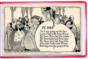H And M St Ives Comic I Was Going to St Ives Met A Man with 7 Wives | eBay