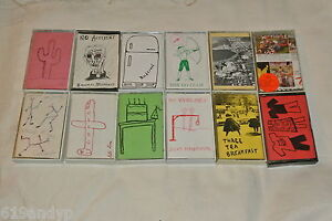 K-Records-Cassette-Tape-Collection-Beat-Happening-The-Go-Team-Calvin-Johnson