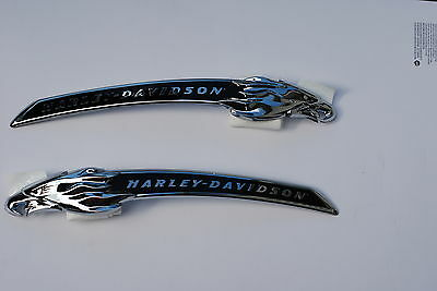 Harley Cvo Tank Emblems Flhxse Medallion Screamin Eagle Head Street Glide Road