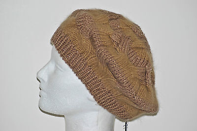 With Tags Parkhurst Pinwheel Beret Angora Blend 1 Size Available In 3 Colors