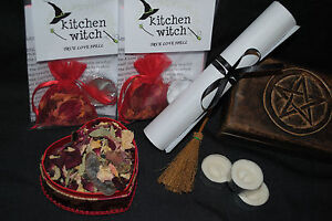 ★ TRUE LOVE Spell Kit Powerful Folk Magicks ★ Kitchen Witch Organics ★
