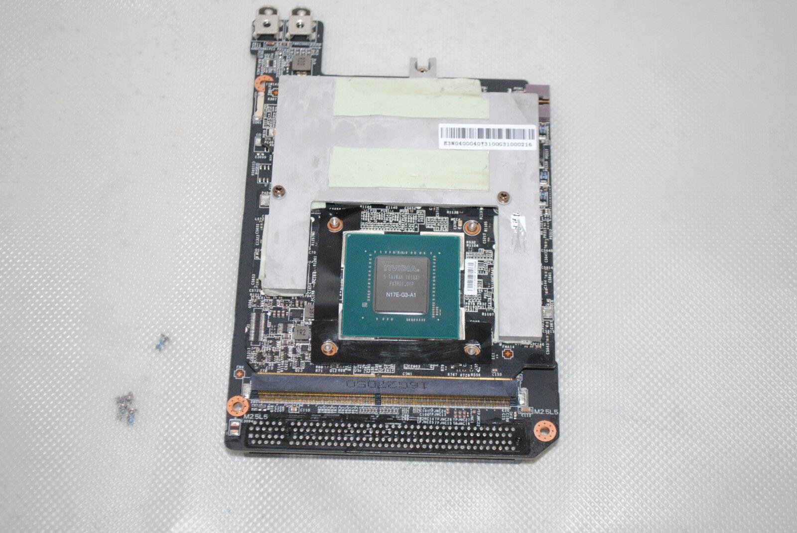 MSI VR Vortex G65VR-082 NVIDIA GTX 1080 MXM 3 0b Graphic Card 8GB DDR5X  +mount