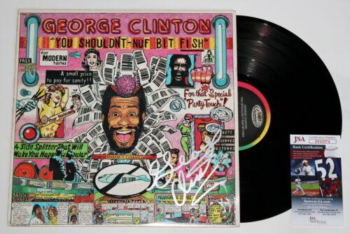 GEORGE CLINTON SIGNED SHOULDNT BIT FISH LP VINYL RECORD ALBUM AUTOGRAPH JSA COA