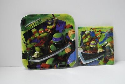 Ninja Turtles Napkins (Teenage Mutant Ninja Turtles Party Supplies Plates and)