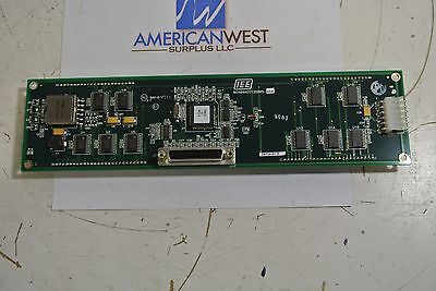 IEE 05464ASSY38805 Alphanumeric Fluorescent Display Board USED