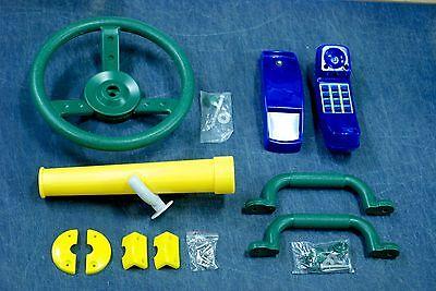 Swingset Accessory Kit,Playground accessories,play set toys,swing set,4pc random - Playground Kit