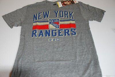 ccd45dbac47 NHL New York Rangers CCM Vintage Style T Shirt Medium