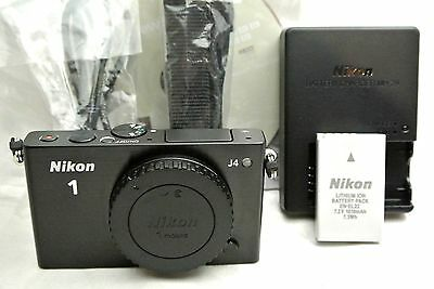 Nikon 1 J4 18.4MP mirrorless digital camera body bundle *display