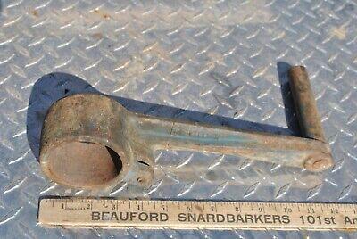 Original Fairbanks Morse Hit Miss Gas Engine Cast Iron Hand Crank