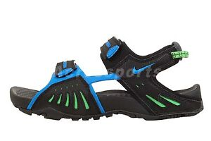 Nike Santiam 4 IV ACG 2013 Outdoors Sports Sandals Black Grey / Blue Select 1