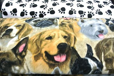Dog Blanket German Shepherds Labs Pugs Yorkies Double Side Can Personalize 28x44