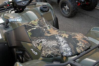 SUZUKI 400 KING QUAD (2005-UP)  Camo or Black ATV  Seat Cover - AMERICAN MADE