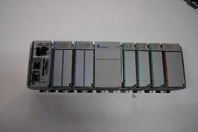 Compactlogix Allen Bradley Rack Complete System 1769-l35e Ser B System 2013