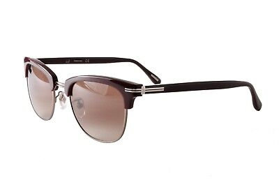 Dunhill Sunglasses SDH013 09HB Dark Purple Silver Brown Graduated