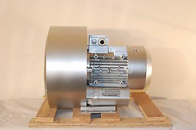 Regenerative Blower 2.75hp 106cfm 124h2opres 220480v3ph Side Channel Blower