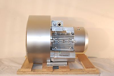Regenerative Blower 2.75hp 106cfm 124h2o Press 220480v3ph Goorui 002 34 2r4