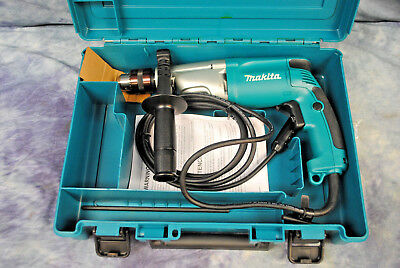 Makita 20mm 34 2-speed Hammer Drill Hp2050 800367a4 Newwithcase