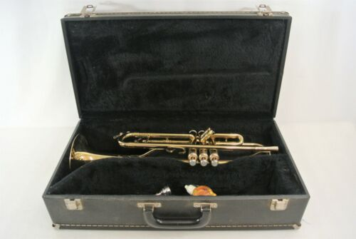 King 600 C Trumpet #794549 458 Comes w/ Benge 7C Mouthpiece, Case & Valve Oil