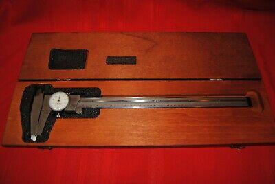 Starret No 120  Calipers In Wood Box