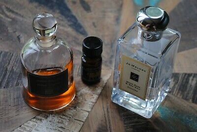 3 x used perfumes JO MALONE, SERGE LUTENS and ALCHEMY LAB see listing