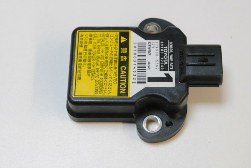 LEXUS IS 250 2010 RHD YAW RATE TURN SENSOR 89183-12040