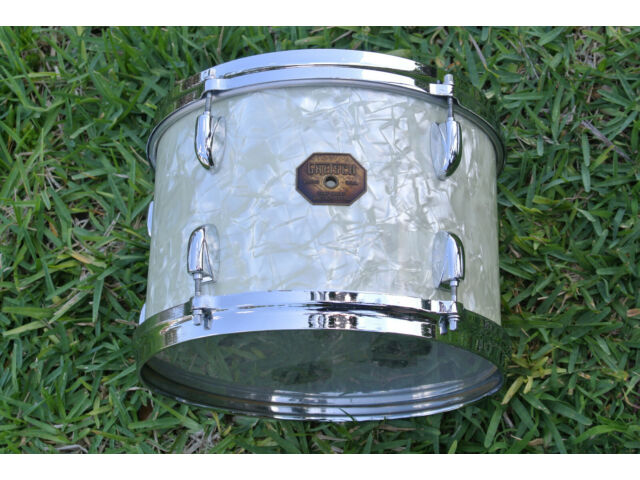"ADD this RARE GRETSCH 12"" WHITE PEARL 4415 TOM to YOUR DRUM SET TODAY! LOT #E993"