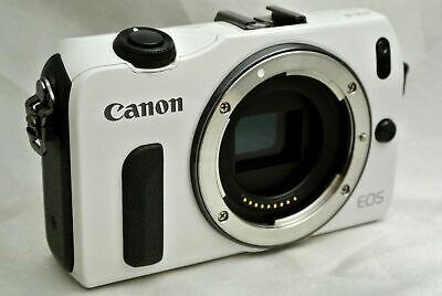 Canon EOS M 18.0MP Digital Camera - White *body kit *v. Good *tested