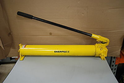 Enerpac P-801 Steel Hydraulic Hand Pump 2 Spead Nice