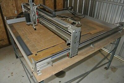 Pdj 50 X 50 Cnc Router With Table Fully Assembled With Computer Software