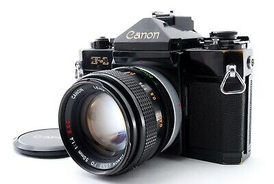 Canon F-1 w/ FD 50mm F1.4 S.S.C 35mm SLR Film Camera Excellent from Japan