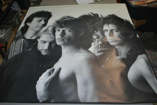 Rolling Stones 1986 promotional poster