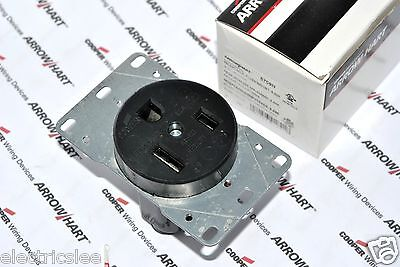 5 for $30 1252 COOPER WIRING SFC RECEPTACLE-NEMA6-50R