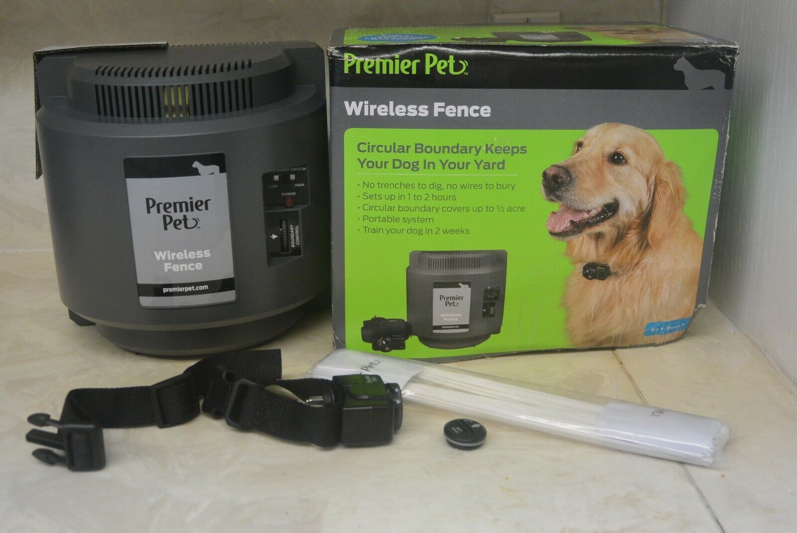 PREMIER PET Wireless Containment UNIT GIF00-16347  - $106.00