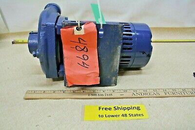 Berkeley Pump 75 Psi C1-284-e  E Electric Motor 115230v Plumbing