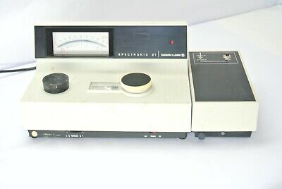 Bausch Lomb Spectronic 21 Spectrophotometer 32.22.25