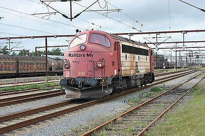 Railcare Nohab MY 1122 Padborg 2011