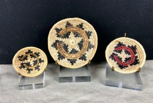 Miniature Navajo Wedding Baskets