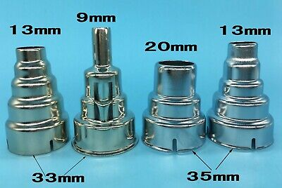 4pcs Iron Hot Air Gun Nozzle 9141913mm For 33mm35mm Hand-held 1600w - 2000w