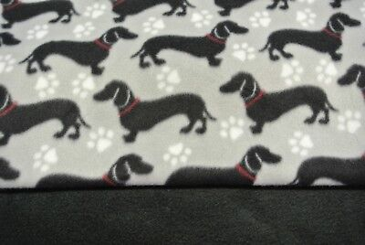 """Dachshund Doxie Dog Blanket Can Be Personalized 28x22"""""""