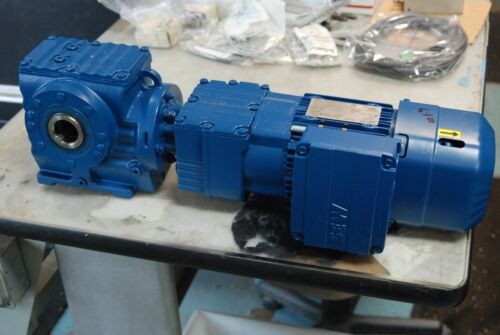 "Sew Eurodrive SA57-R17-DRS71M8/4BE1HR, Gear Motor / Reducer 1 3/8"" Hollow Shaft"