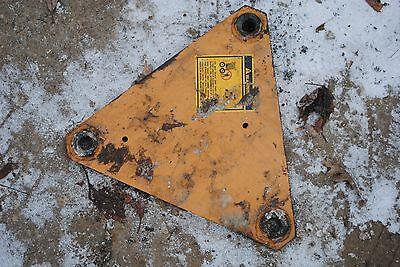 Pivot Plate Case 1845b Skid Steer