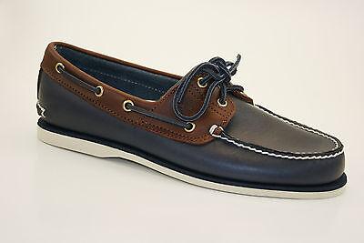 Classic 2 Eye Boat Shoe (Timberland Classic 2-Eye Boat Shoes Segelschuhe Deckschuhe Herren Schuhe A16MJ)