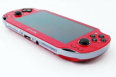 SONY PS Vita PCH-1000 OLED Wi-Fi Model Red FW 3.73 Console only