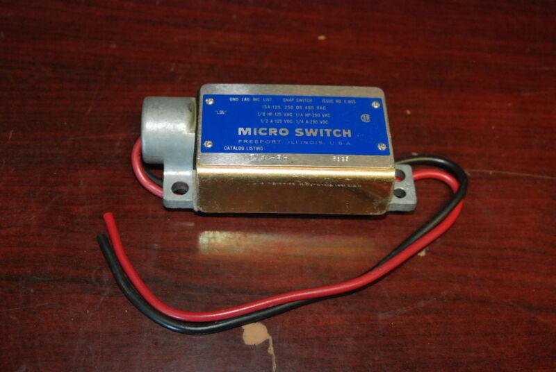 Micro Switch, WZLN-RH, Snap Switch, NEW