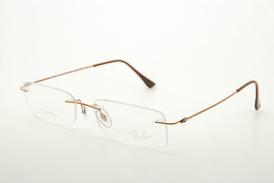 c531c6ba9b New Authentic Ray Ban 8679 1131 LightRay Bronze Brown 50mm Italy Eyeglasses  RX